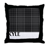 Kyle Tartan Throw Pillow