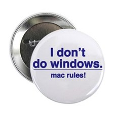 MAC RULES! - Button (10 pack)