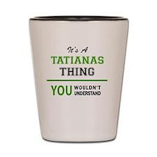 Unique Tatiana Shot Glass