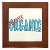 Certified Organic Framed Tile