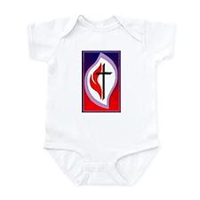 Cute United methodist Infant Bodysuit