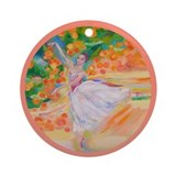Grace in the Grove Ornament (Round)