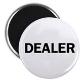 Dealers Button Magnet Backed