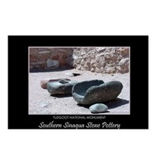 Sinagua Stone Pottery #1 Postcards (8)