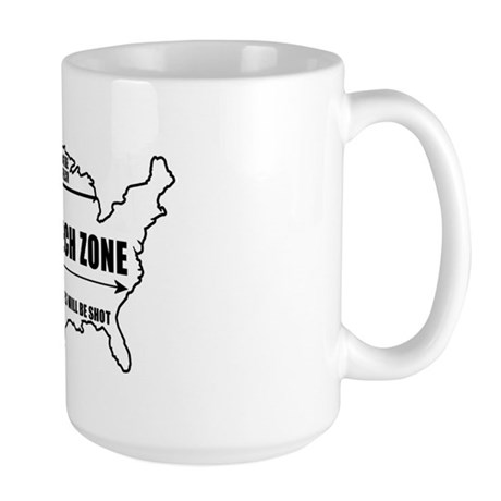 Free Speech Zone Large Mug