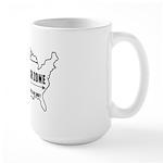 Free Speech Zone Large Mug