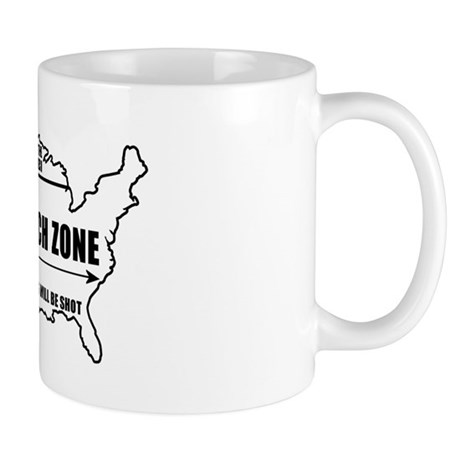 Free Speech Zone Mug