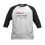 Free Speech Zone Kids Baseball Jersey
