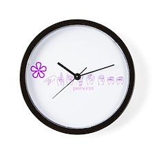 ASL Princess Wall Clock