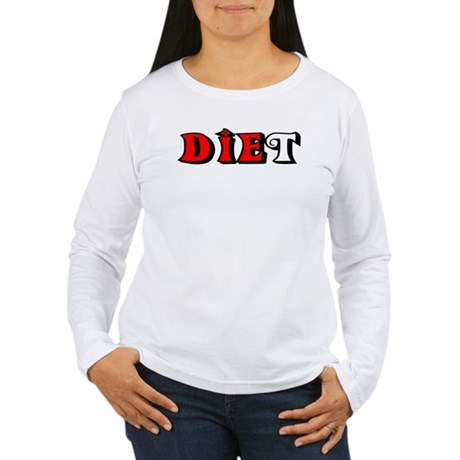 Diet Women's Long Sleeve T-Shirt