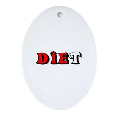 Diet Oval Ornament
