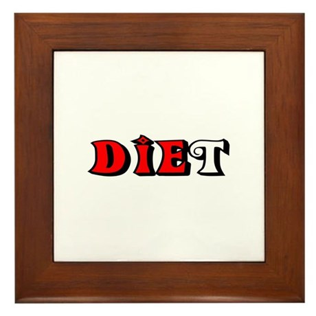 Diet Framed Tile
