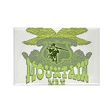 The Mountain Man or trappers, Rectangle Magnet (10