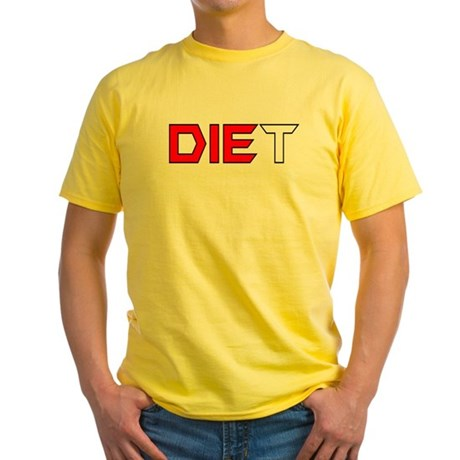 Diet Yellow T-Shirt