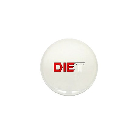 Diet Mini Button (10 pack)