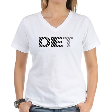Diet Women's V-Neck T-Shirt