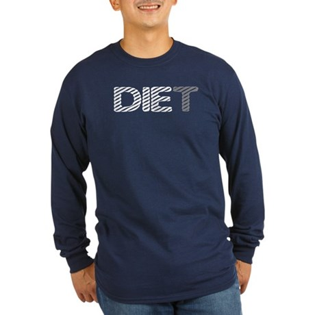 Diet Long Sleeve Dark T-Shirt