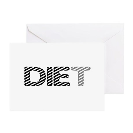 Diet Greeting Cards (Pk of 10)