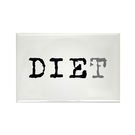 Diet Rectangle Magnet (100 pack)