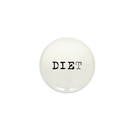 Diet Mini Button (100 pack)