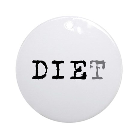 Diet Ornament (Round)