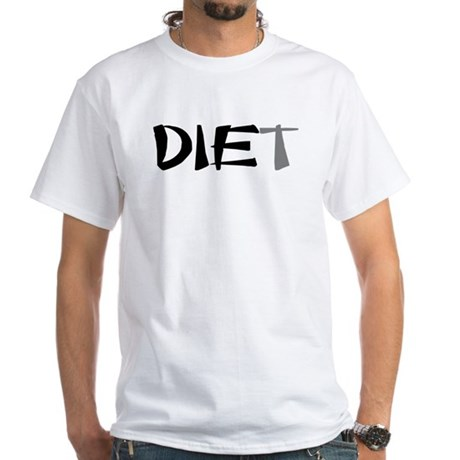 Diet White T-Shirt