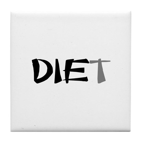 Diet Tile Coaster