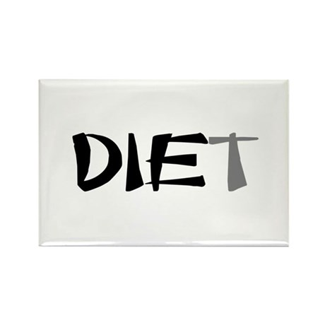 Diet Rectangle Magnet (10 pack)