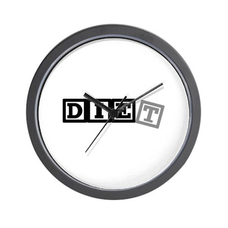Diet Wall Clock