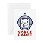 Space Cadet Greeting Cards (6)