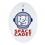 Space Cadet Oval Ornament