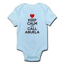 Keep Calm Call Abuela Body Suit