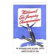 Cute National championship Postcards (Package of 8)