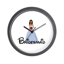 Adriana's Bridesmaid Wall Clock