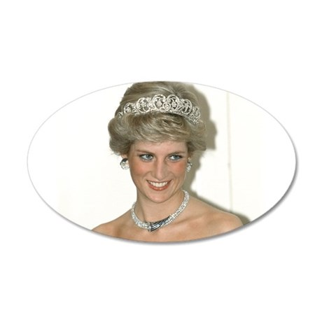 Stunning! HRH Princess Diana Wall Sticker