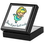 Dance Hearts Keepsake Box