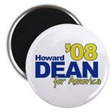 HOWARD DEAN FOR AMERICA '08 Magnet