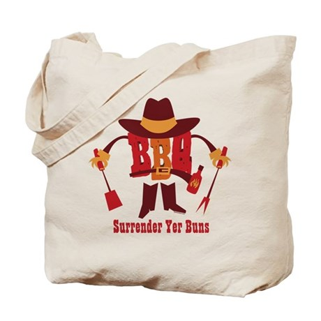 Surrender Yer Buns Tote Bag