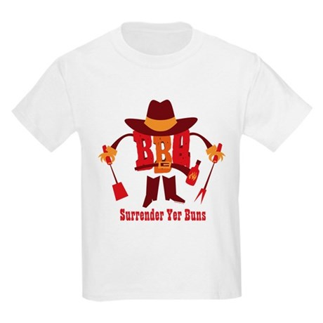 Surrender Yer Buns Kids Light T-Shirt