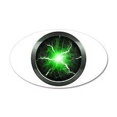 Borg Regeneration Disc 38.5 x 24.5 Oval Wall Peel