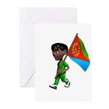 Eritrea Boy Greeting Cards (Pk of 10)