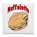 Muffalotta Tile Coaster