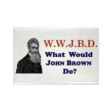 What Would JOHN BROWN Do Rectangle Magnet (10 pack