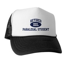 Retired Paralegal Student Trucker Hat
