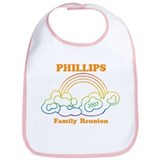 PHILLIPS reunion (rainbow) Bib
