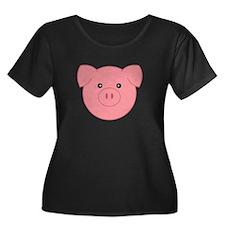 Little Pig Plus Size T-Shirt
