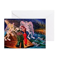 "Greeting Cards (Pk of 10) ""Shark Attack"""