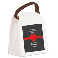 Lovers - Add Your Own Images Canvas Lunch Bag