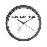 Soa Cah Toa Wall Clock