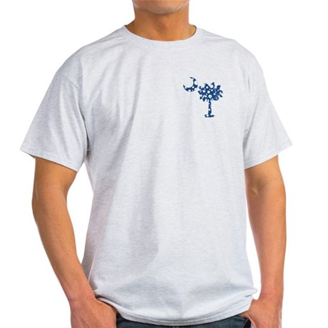 Blue Polka Dot Palmetto Light T-Shirt
